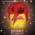 Spongy Stardust - happy-square-sponge fan art
