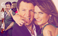 Stana & Nathan (Castle) - castle-and-beckett wallpaper