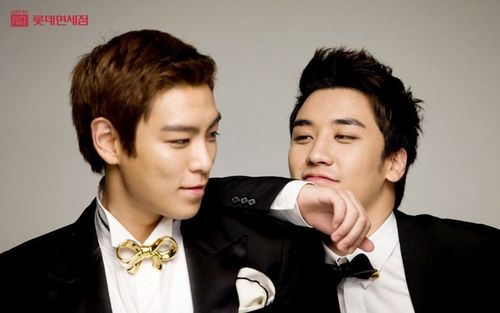 T.O.P AND SEUNG RI