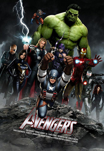 THE AVENGERS ARE ALL HERE