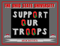 THE OSU SUPPORT OUR TROOPS