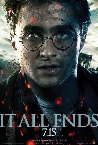 The Deathly Hallows pt.2 official posters