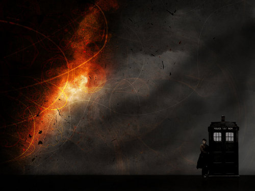 The Doctor  - david-tennant Wallpaper