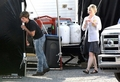 The Hunger Games movie - On set (May 31, 2011) - hunger-games-guys photo