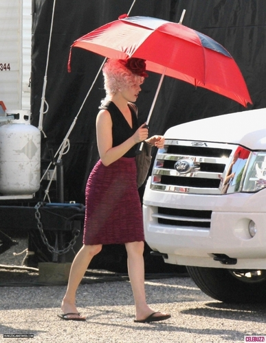 The Hunger Games movie - On set (May 31, 2011)
