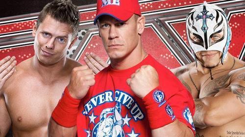 The Miz,John Cena,Rey Mysterio