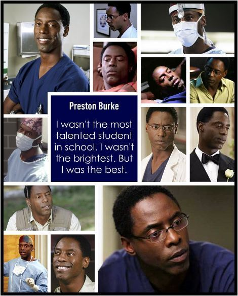 The Originals Preston Burke Grey S Anatomy Fan Art 22541239 Fanpop
