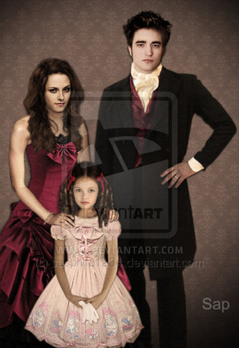The Perfect Little Vampire Family