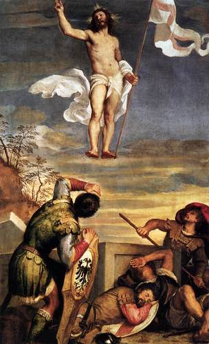 The Resurrection Titian
