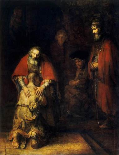 The Return of the Prodigal Son দ্বারা Rembrandt