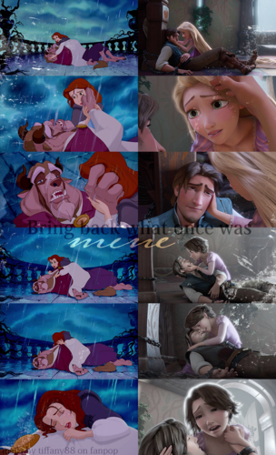 The Tangled Beauty and the Beast