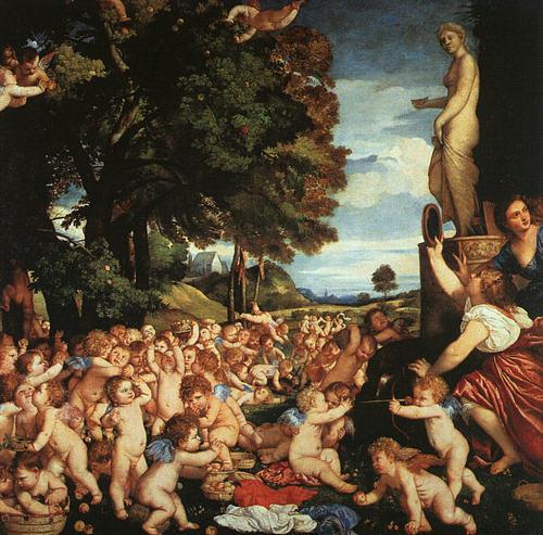The Worship of Venus سے طرف کی Titian