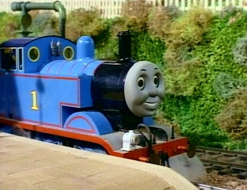 Thomas the Tank Engine wallpaper called Thomas in Series 1