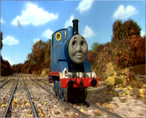 Thomas the Tank Engine kertas dinding titled Thomas in Series 10