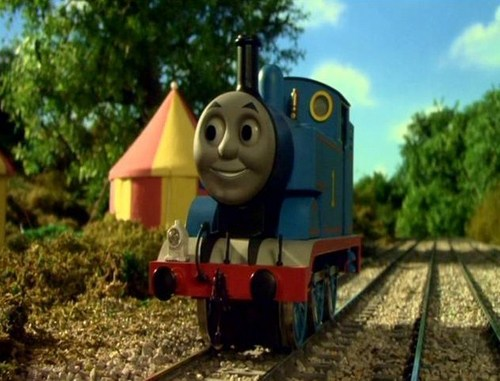 Thomas the Tank Engine kertas dinding called Thomas in Series 11