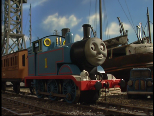 Thomas the Tank Engine kertas dinding titled Thomas in Series 8