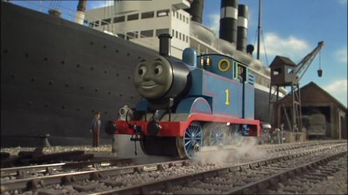 Thomas the Tank Engine achtergrond called Thomas in Series 9