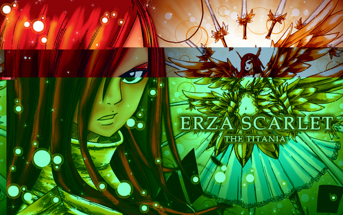 Erza Scarlet wallpaper called Titania