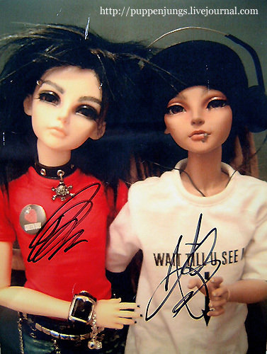 Tom&Bill as dolls!;-)