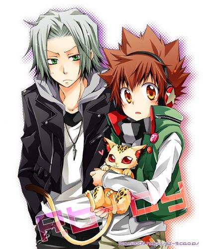 Tsuna & Gokudera
