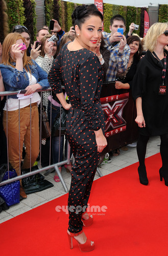 The X Factor wallpaper called Tulisa : X-Factor Auditions in Birmingham