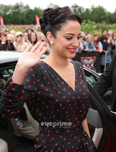 The X Factor images Tulisa : X-Factor Auditions in Birmingham HD wallpaper and background photos