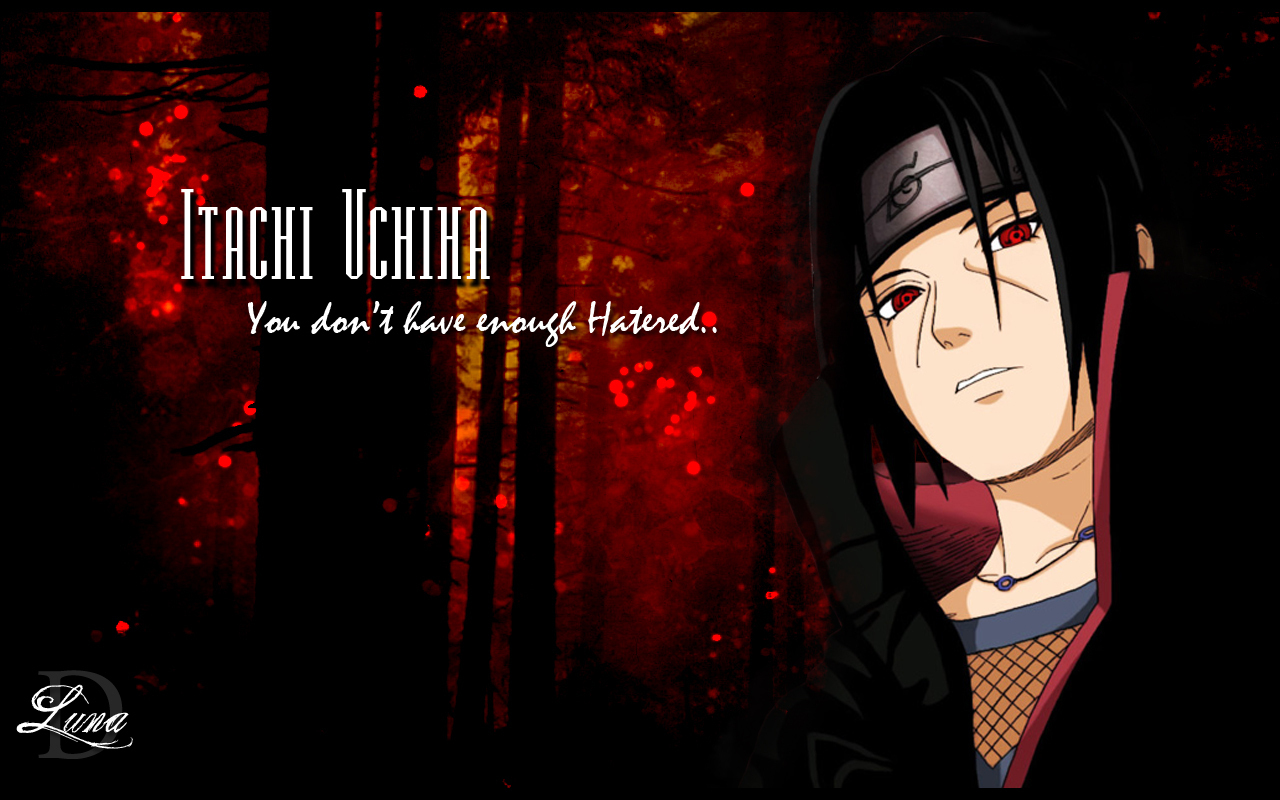 Itachi Uchiha images Uchiha Itachi HD wallpaper and ...