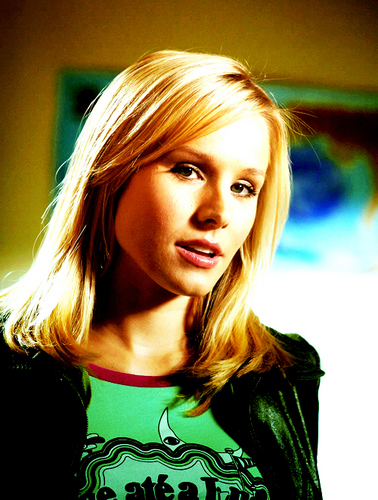 Veronica Mars achtergrond with a portrait entitled Veronica Mars