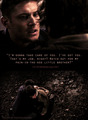 Watching out for my brother. - supernatural-quotes photo