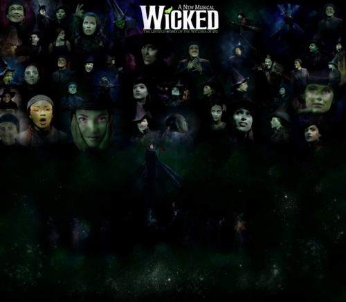 Wicked Logo wallpaper
