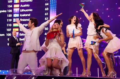 Eurovision Song Contest 壁纸 called Winners***