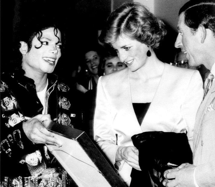 With Lady Diana! ♥