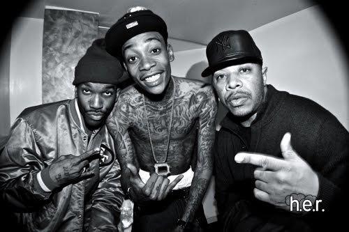 Wiz Khalifa & His friends
