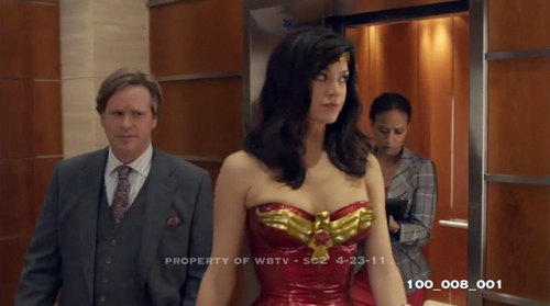 Wonder Woman wallpaper possibly containing a cocktail dress entitled Wonder Woman Pilot