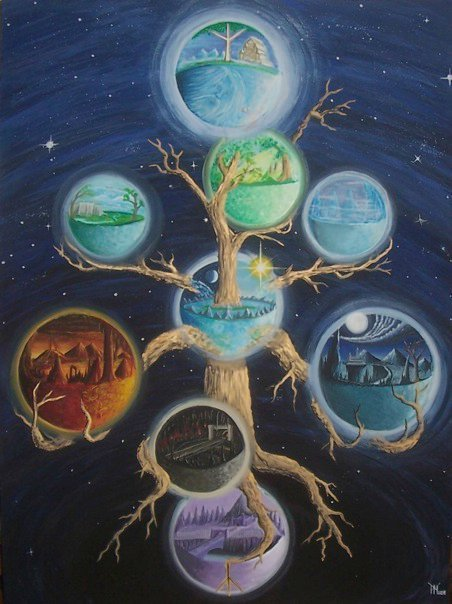norse creation myth The norse creation myth or cosmogony (an account of the origins of the cosmos)  is perhaps one of the richest in all of world literature first, let's look at this.