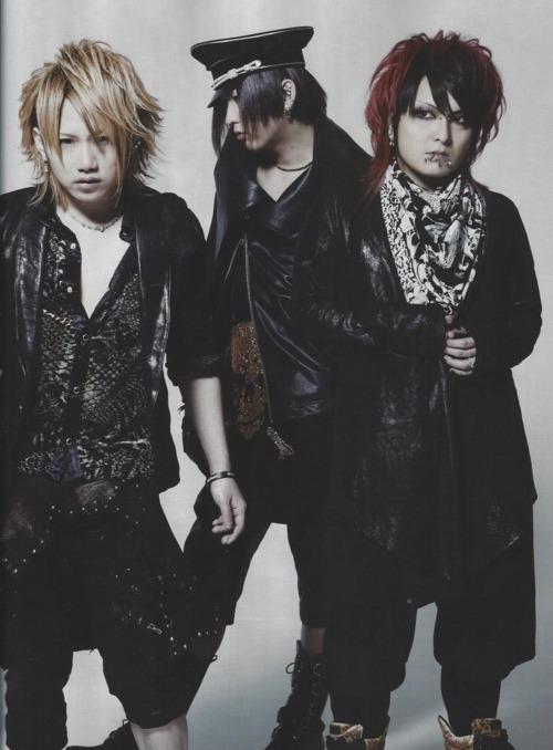Yomi, Ruka and Hitsugi