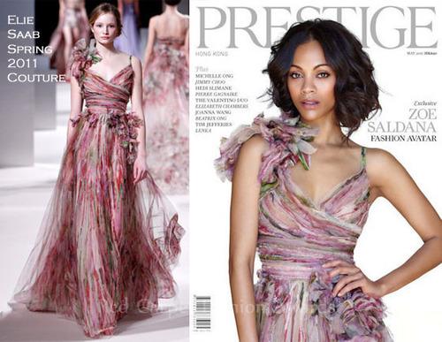 Zoe Saldana - Prestige Magazine (May 2011)
