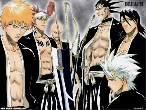 bleach boys - bleach-anime Wallpaper