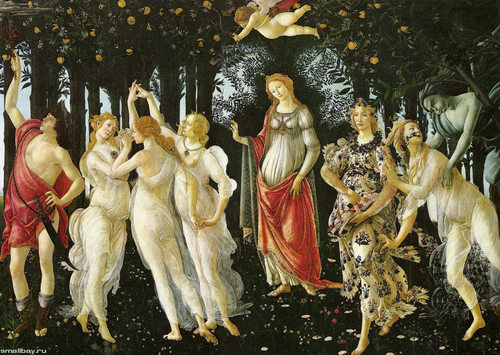 Fine Art wallpaper called botticelli