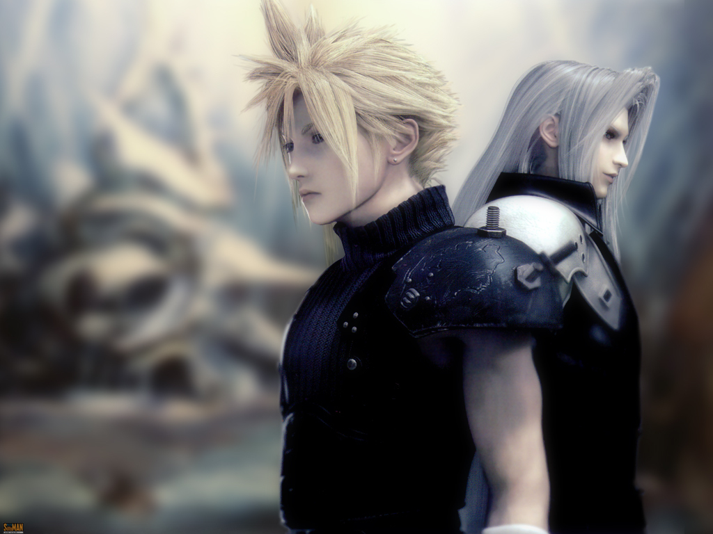 cloud and seph