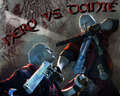 dante vs nero - devil-may-cry-4 photo