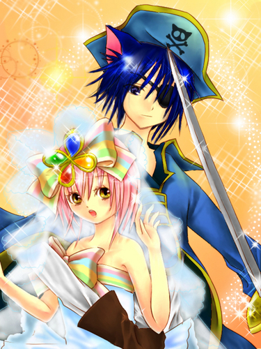 fanart amu and ikuto