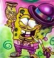 gangster spongebob :D
