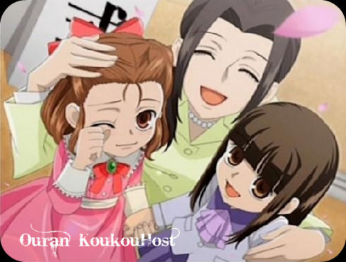 ouran high school host club wallpaper containing anime entitled haruhi