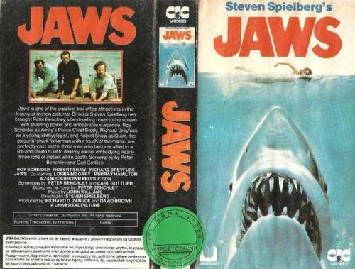 Movies wallpaper containing anime titled jaws cover