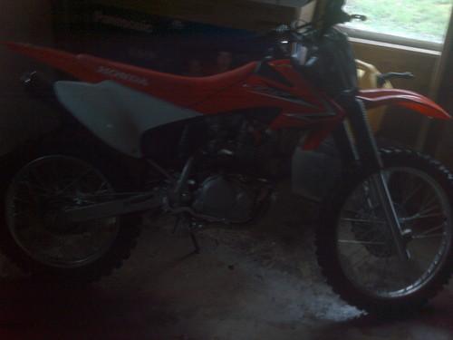 my 2009 CRF230