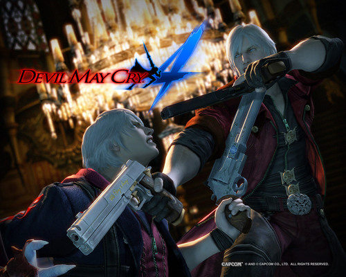 nero vs dante - devil-may-cry-4 Photo