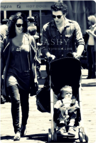 Robert Pattinson & Kristen Stewart 壁紙 titled robsten manips