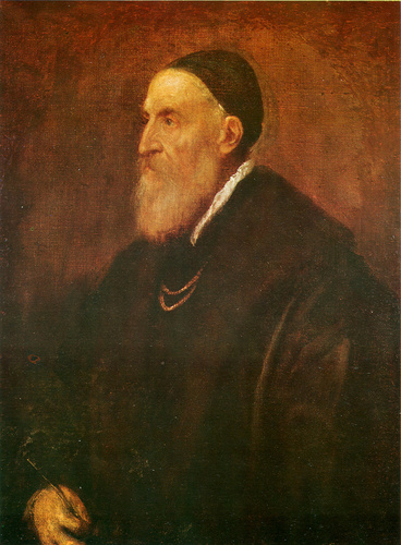 self-portrait por Titian