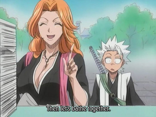 toshiro and rangiku